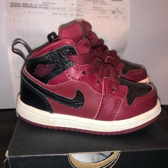 low priced 2914b 542e8 Nike Air Jordan 1 Mid - Toddler 5